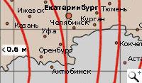 Обслуживаемая зона Радуга. Спутник Intelsat-904